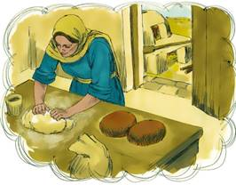 Image result for parable of leaven